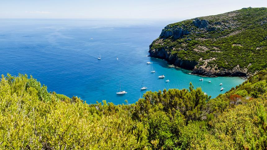 capraia sailing week holidays cruise