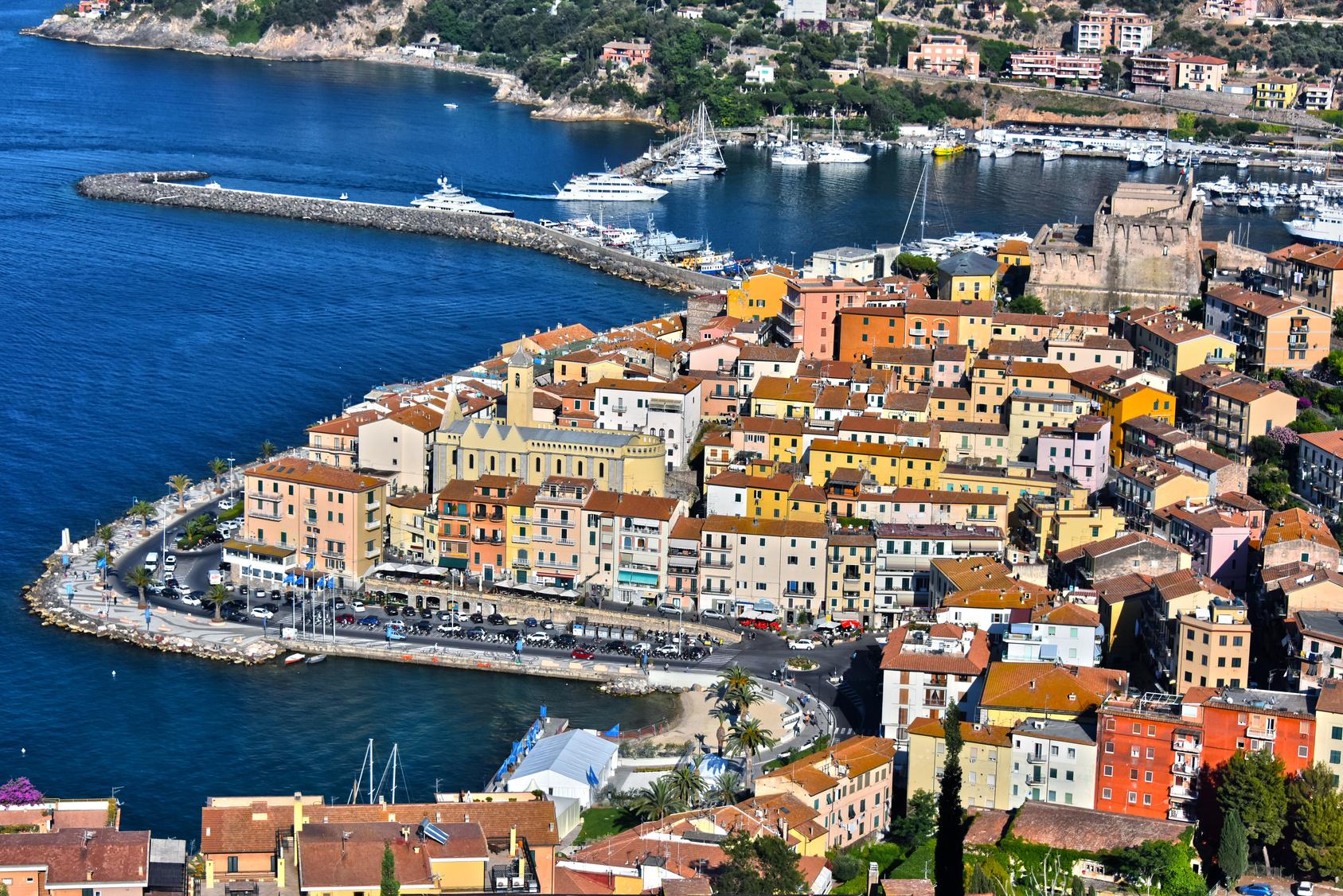 City of Porto Santo Stefano,Tuscany, Italy